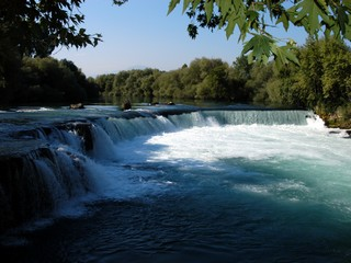 Side Manavgat Waterfalls