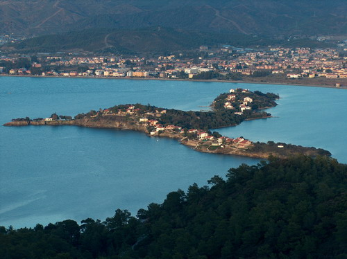 Sovalye Island in the Gulf of Fethiye