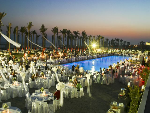 Belek's nightlife is concentrated around its large resorts.