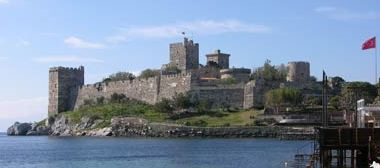 Bodrum castle now houses an archaeological museum.