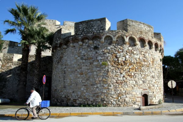 Cesme Museum is located in the town's 16th century castle.