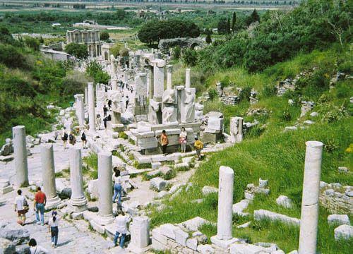 Ephesus is one of the world's most significant historical si
