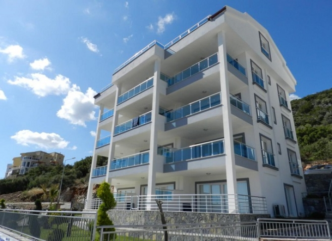 Akbuk Apartments with Excellent Sea View