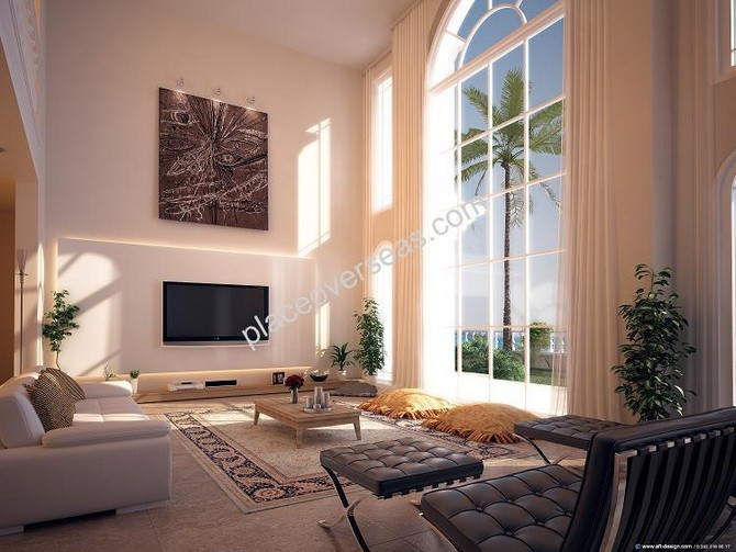 Very high ceilings White House design
