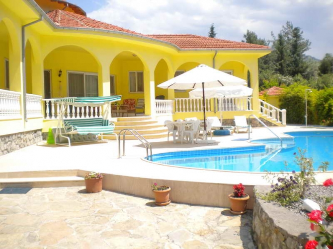 Stunning Bungalow and 2 Holiday Villas in an Orchard Dalaman