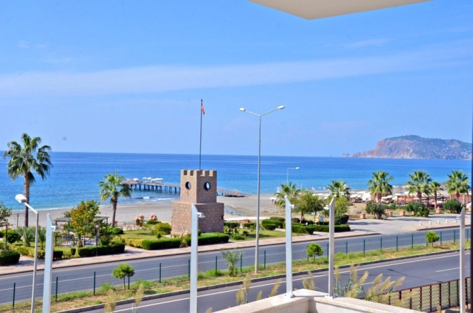 Alanya Seafront Apartment 3 Bedrooms with Amazing Views
