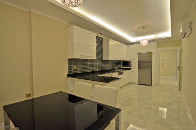 All modern kitchen with lots of space