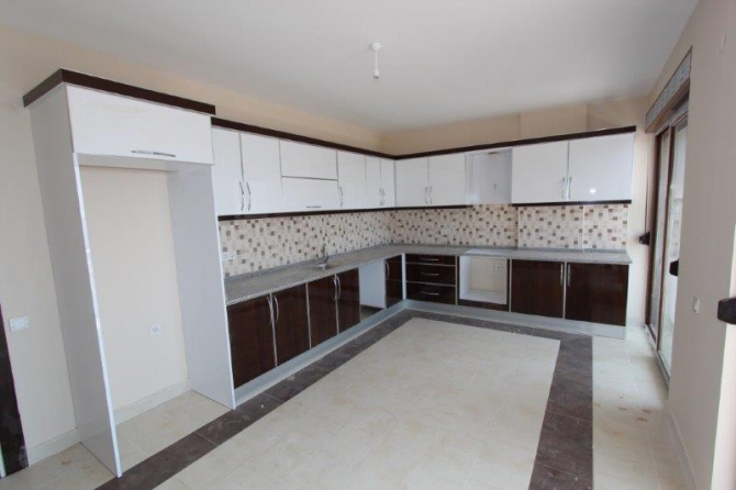 Spacious all open plan kitchens