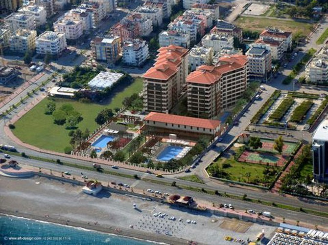 Beachfront Antalya Apartments