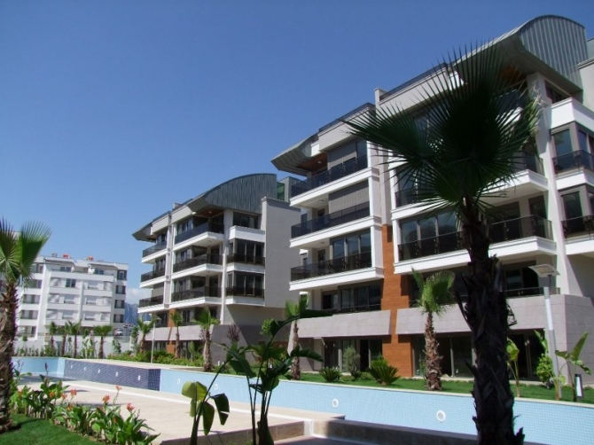 3 bedroom Apartments in new luxury complex in Antalya