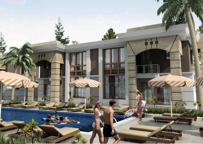 Nature homes within easy reach of Antalya city