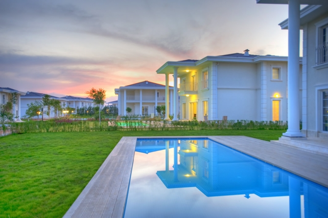 Luxury Villa with a Private Pool in Lara Antalya