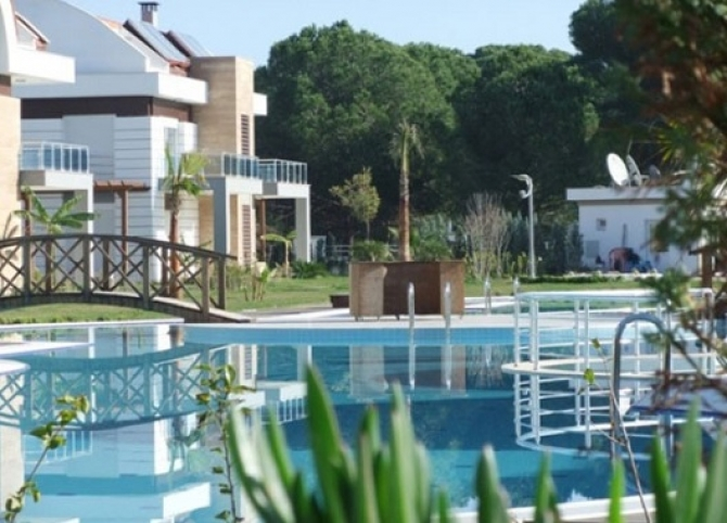 Belek Golf Villas with Private Pools in Managed Estate 4 Bedrooms