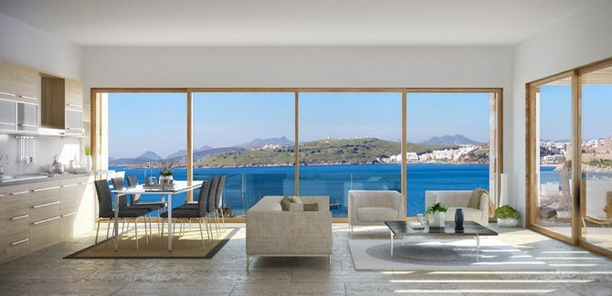 Contemporary Bodrum Town Apartment Near Beach 1 Bedroom