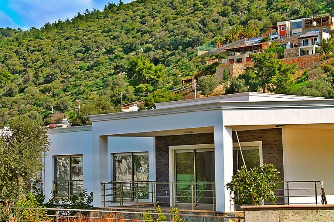 Beautiful Contemporary One Storey Villa In Bodrum Town