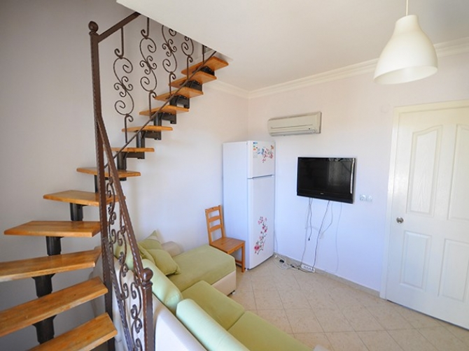 Attic Duplex 2 Bedroom Apartment In Calis