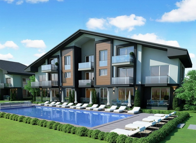 Off Plan 1 & 2 Bedroom Apartments Project For Sale