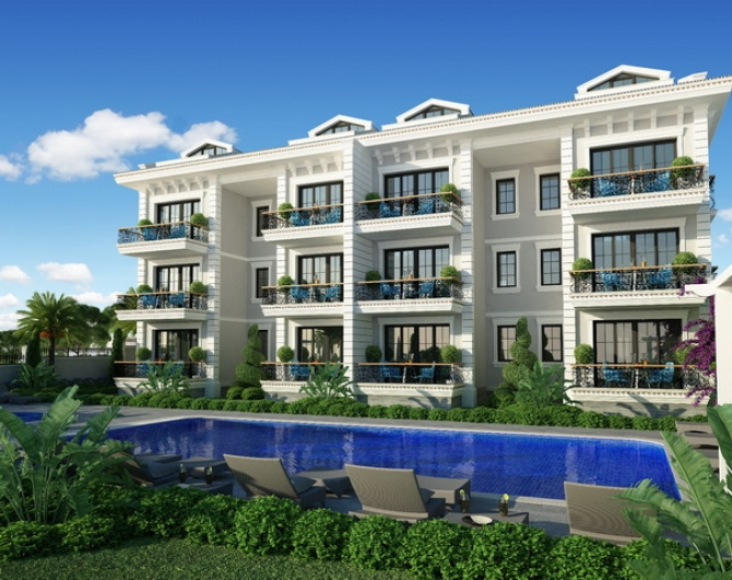 Brand New Apartments with Shared Pool & Gardens