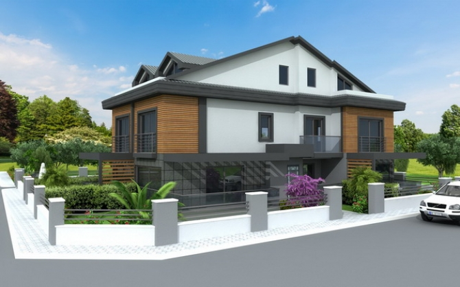 Off Plan - Town Houses For Sale in Calis