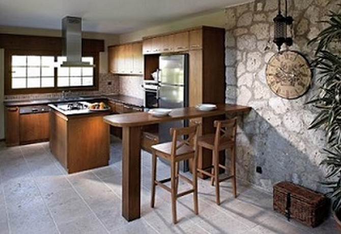 Open Plan Kitchen with Spacious Dining And Living Room
