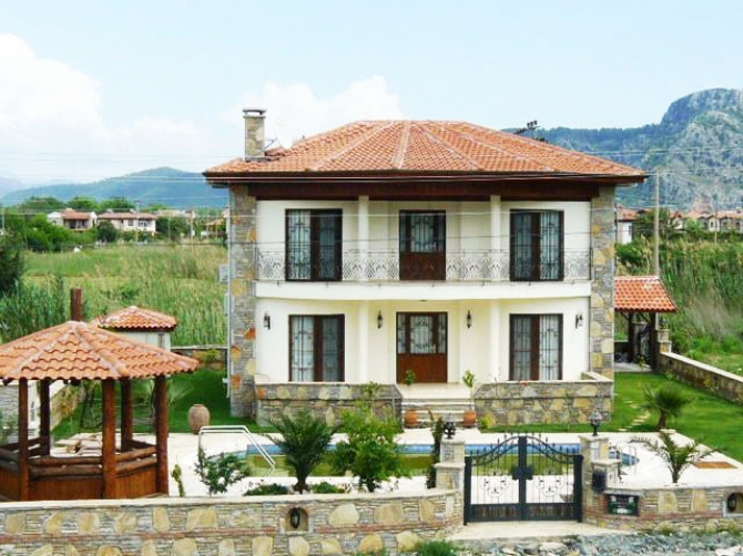 Dalyan Country Villa 4 Bedrooms with Private Pool