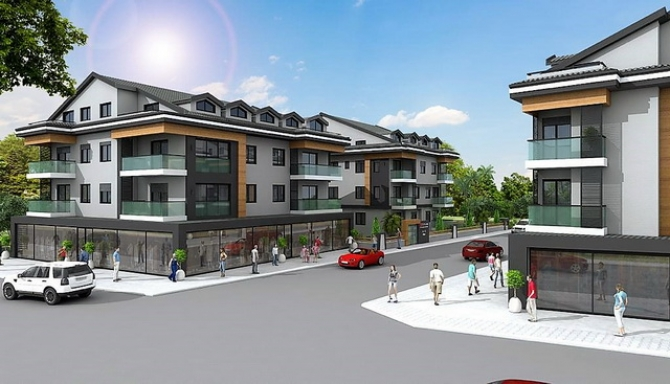 Off Plan Project 4 Bedroom Fethiye Apartments