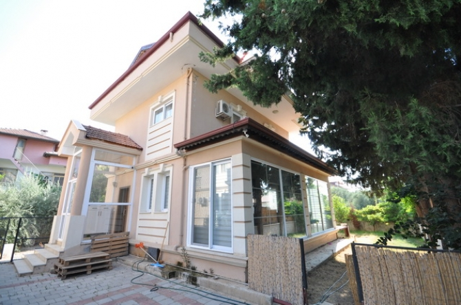 Delightful Corner Plot Resale Detached Villa with Private Pool in Fethiye