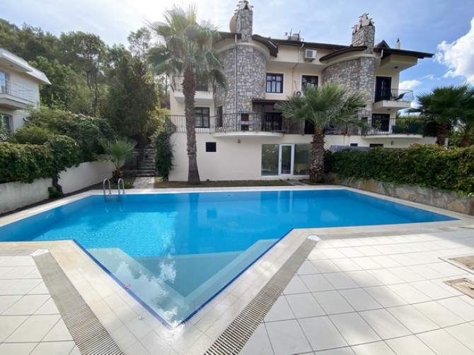 SOLD !!! 3 Bedroom Semi Detached Villa with Private Pool &Garden