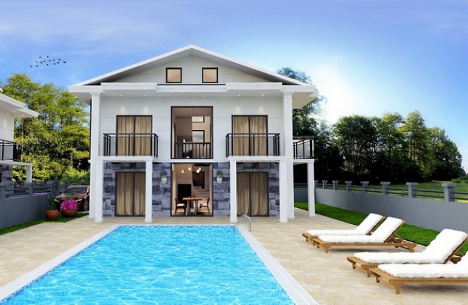 4 Bedroom Luxury Detached Villa with Swimming Pool