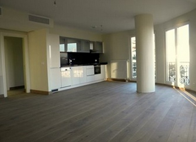 Open Plan Kitchen with Dining And Living Room with Excellent Sea View