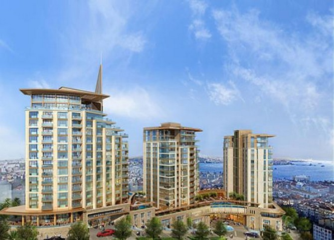 Istanbul Armani Apartments Residences in Macka for sale