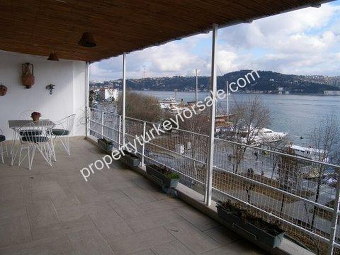 Seafront Bebek Penthouse Open Bosphorus View 3 Bedrooms for sale