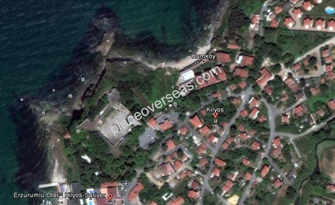 Land for sale in Kilyos Istanbul
