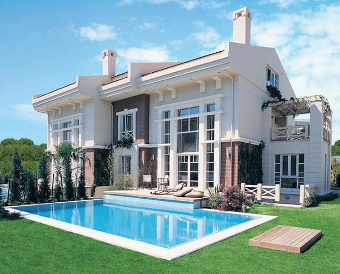 Villas in Istanbul Zekeriyakoy 4 Bedrooms for sale