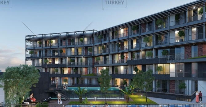 Luxury designer Bornova investment apartments in Izmir