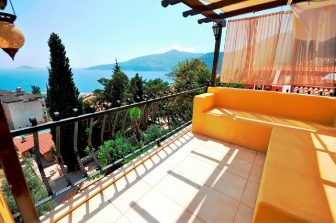 Two Bedroom Kalkan Apartment With Sea View