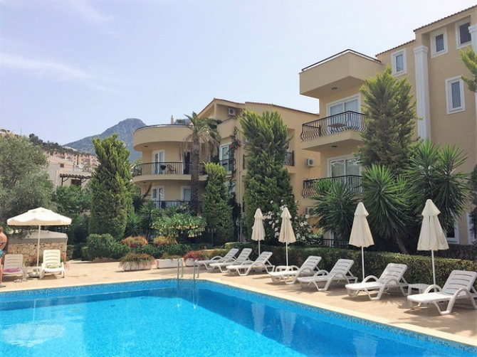 2 Bed Duplex Apartment with Shared Swimming Pool
