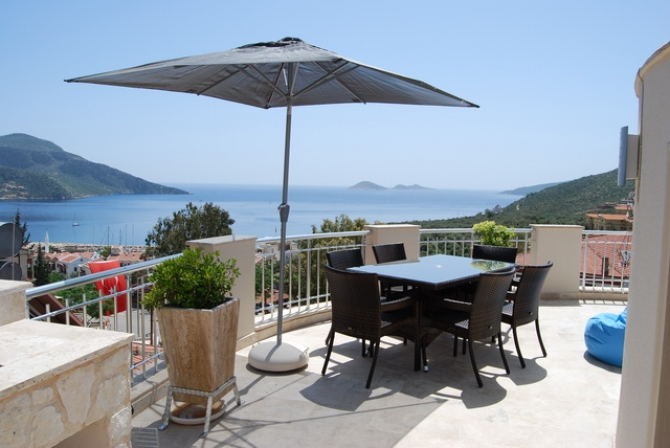 Impressive Kalkan Apartment Town Center 3 Bedrooms for sale