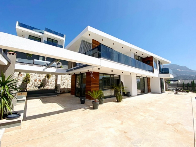 4 Bedroom New Brand Detached Villa with Sea View and Pool