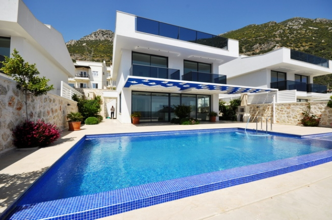 Contemporary 5 Bedroom Villa in Kalkan