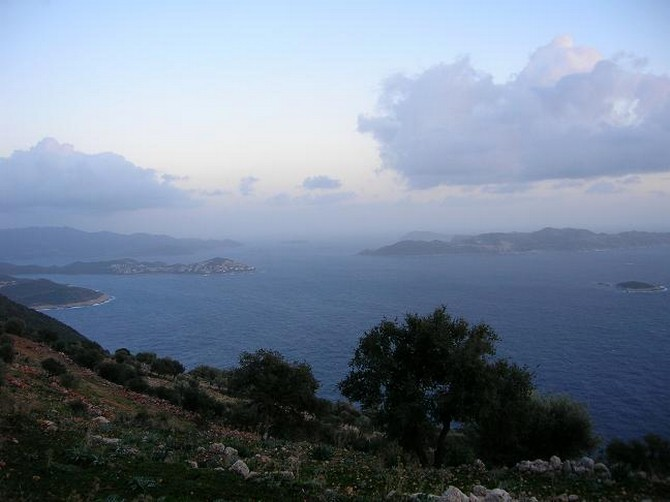 Land in Kas with great views for sale