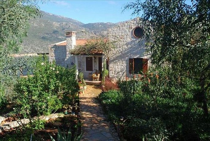 Beachfront Kas Villa with Guest House 4 Bedrooms