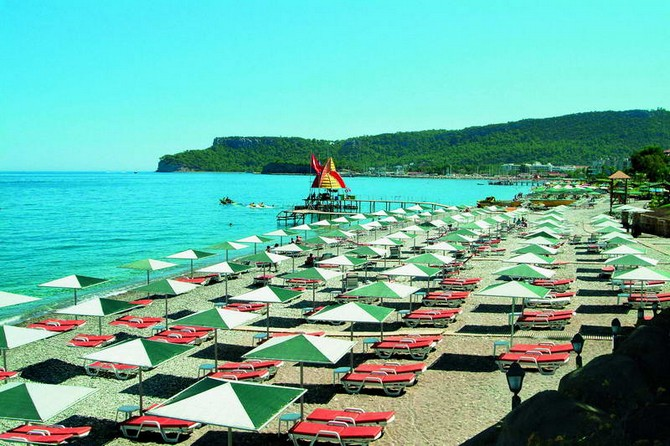 Kemer Hotel for Sale in Town Center 310 Bedrooms