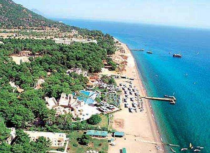 5 Star Seafront Hotel in Kemer highly profitable