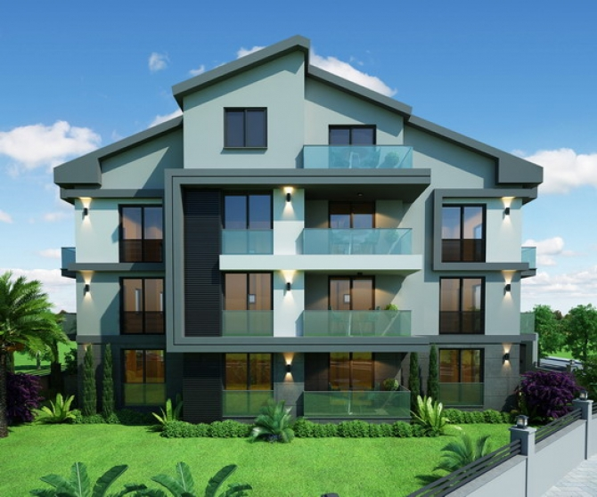 Off Plan 1 Bedroom Spacious Apartments Project For Sale