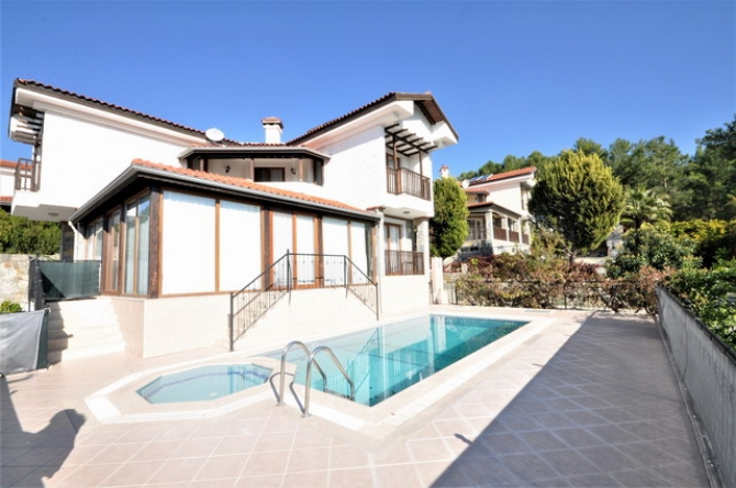 Stunning Kemer Villa with Private Pool & Garden For Sale