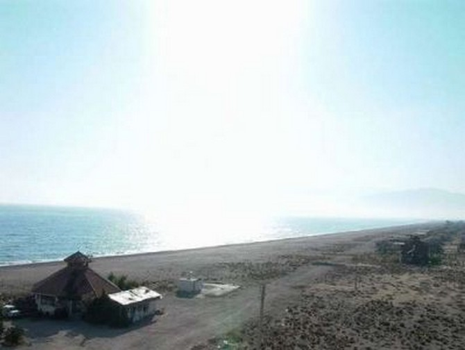 Seafront plot for sale in Kemer