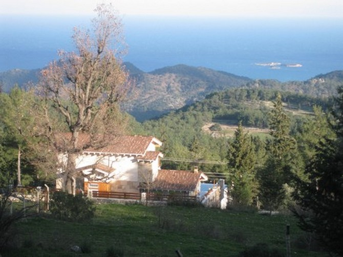 Beycik Nature Villa with Spectacular Views 3 Bedrooms for sale