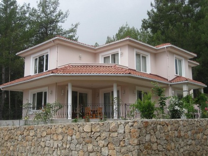 Splendid Private Kemer Villa Village Settings 3 Bedrooms for sale