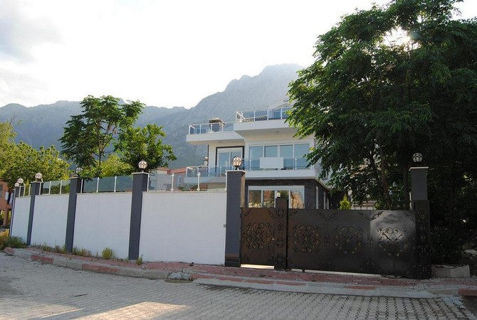 Kemer villa with private pool and amazing nature view